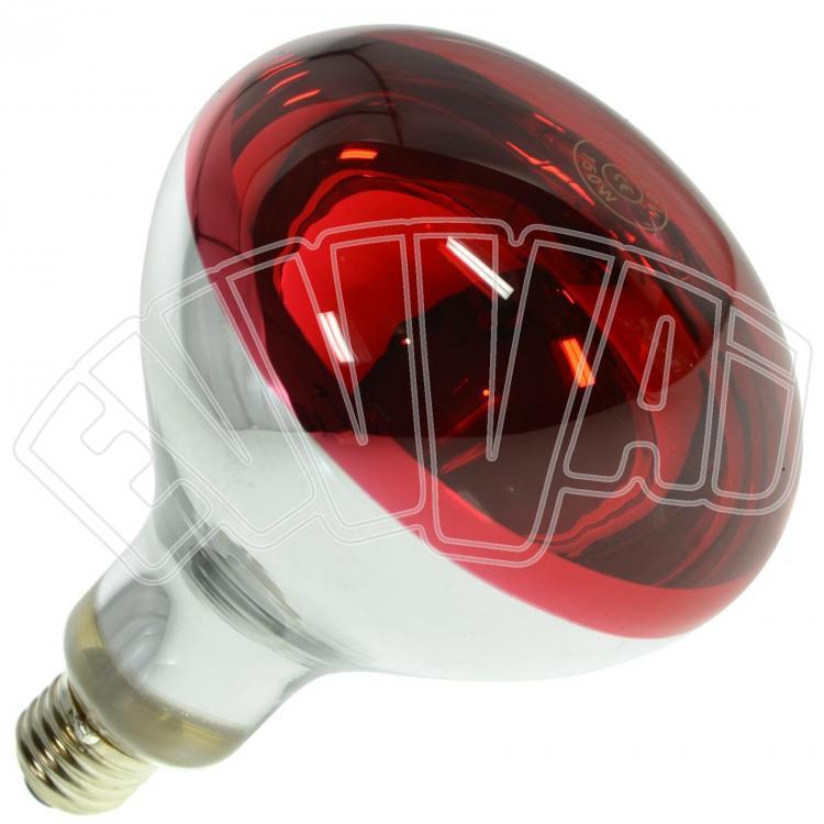 150w lampada infrarossi rossa e27 riscaldamento pulcini
