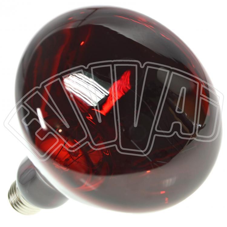 150w lampada infrarossi per riflettore rossa e27 for Lampada infrarossi riscaldamento pulcini