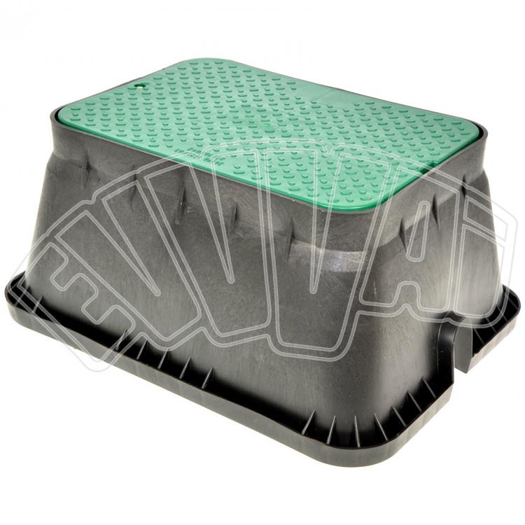 Pozzetti In Plastica Per Giardino.Pozzetto Irrigazione Rettangolare Jumbo Valvole Comando